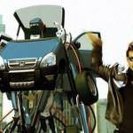 Actor Venkatesh shakes a leg with the Robot